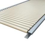 KCT 1 Gravity Conveyor Module in powder coated steel 30 diameter conveyor rollers