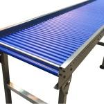 KCT 3 Gravity Conveyor Modual in stainless steel 30 diameter conveyor rollers