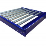 Gravity Roller Conveyor Tracks Conveyor System Conveyor Manufactured by KBR Machinery Conveyor Sections