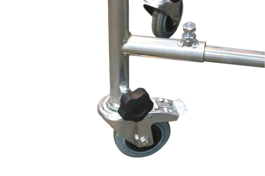 Flexible Conveyor Adjustable Castor Frame