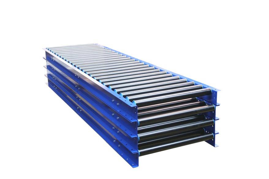 Stock Gravity Roller Conveyors Stock Gravity Conveyors PVC Roller Conveyor