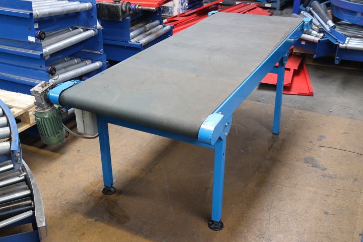 SECONDHAND FLAT BELT CONVEYOR USED CONVEYORS FOR SALE