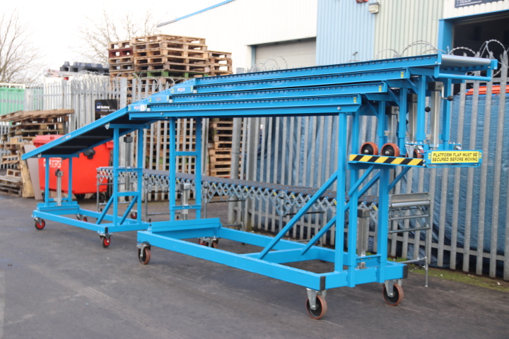 USED High Level Unloading Conveyor 1