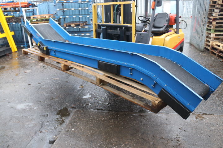 USED INCLINE BELT CONVEYOR SMALL USED INCLINE CONVEYOR SECONDHAND CONVEYORS
