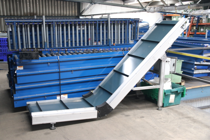 USED INCLINE BELT CONVEYOR USED SWAN NECK CONVEYOR USED PARTS CONVEYOR USED EXTRUSION CONVEYOR USED MACHINE CONVEYOR USED PLASTICS CONVEYOR