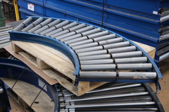 Used Conveyor Second Hand Conveyor Gravity Conveyor Curve
