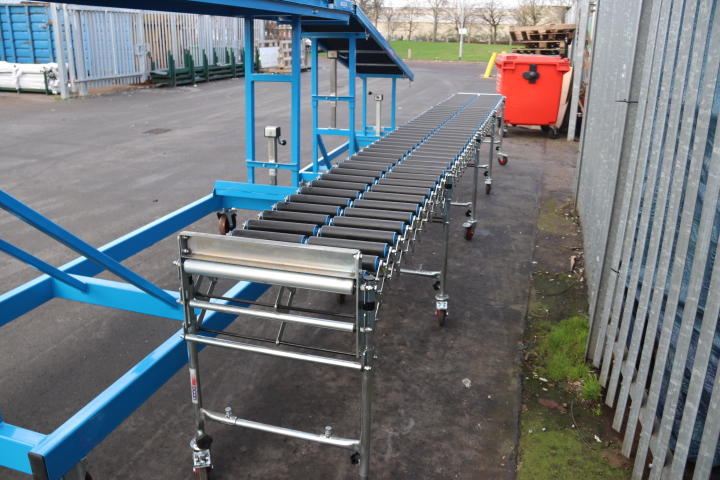 Used Flexible Conveyor Second Hand Flex Conveyor