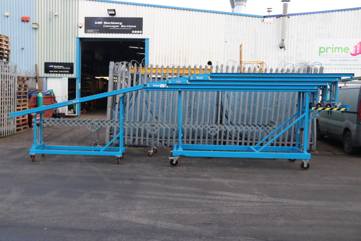 Used High Level Unloading Conveyor Second Hand Vehicle Conveyor