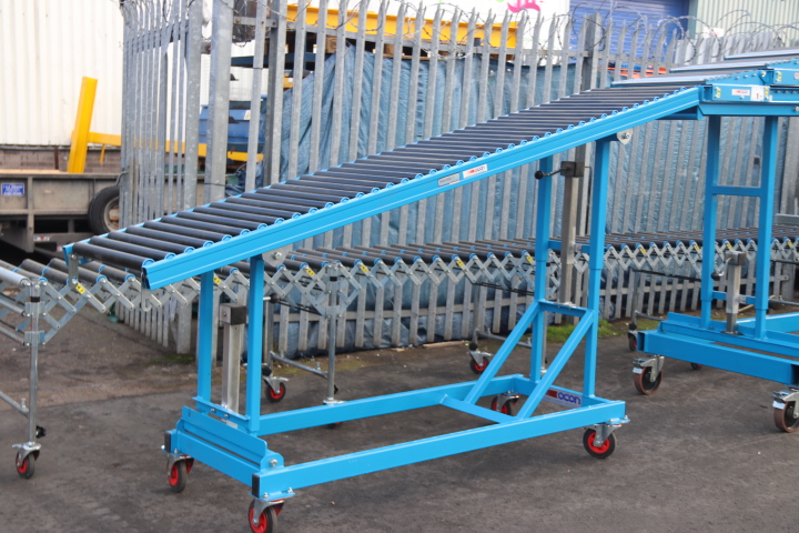 Used High Level Unloading Conveyor Tail Section