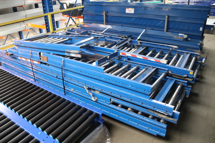 USED GRAVITY ROLLER CONVEYOR USED GRAVITY ROLLER TRACKS USED ROLLER CONVEYOR USED CONVEYOR ROLLERS USED CONVEYORS