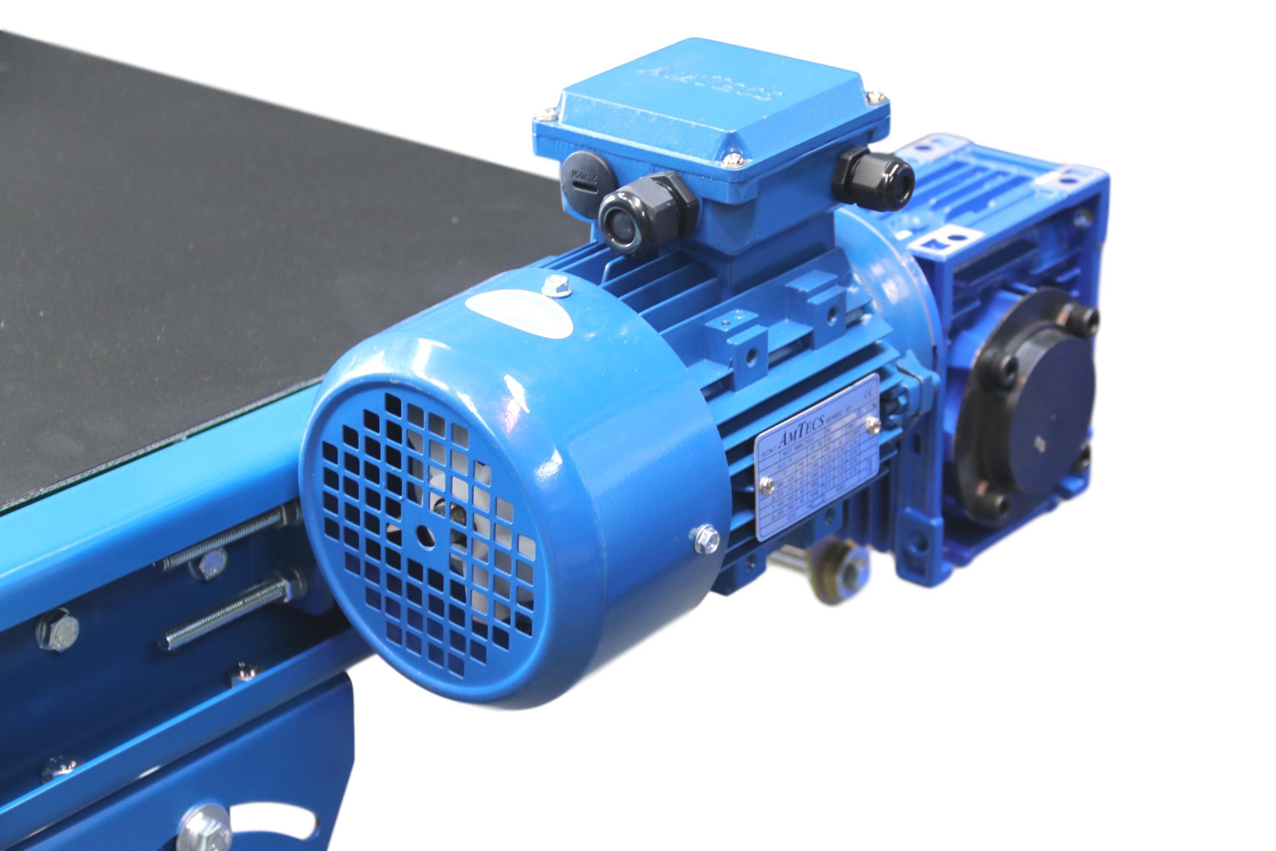 Belt Conveyor with side mounuted motor gear box small belt conveyor slimline conveyors light duty belt conveyors