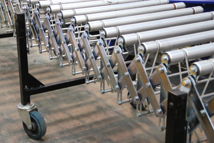 Conveyor units flexible conveyor used flexible conveyor reconditioned flexible expanding conveyor