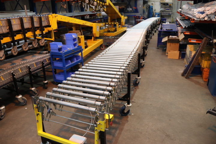 used flexible powered roller conveyor for sale buy used flexible powered roller conveyors