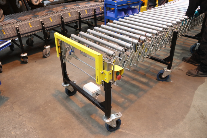 used powered flexible conveyor for sale used expanding conveyors used vehicle unloading conveyor