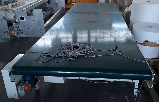 USED WIDE FLAT BELT CONVEYOR USED CONVEYORS USED CONVEYOR SYSTEMS