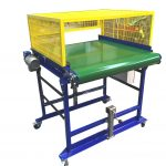 Conveyor Adjustable Leg Supports Conveyor Guards Conveyor Cage