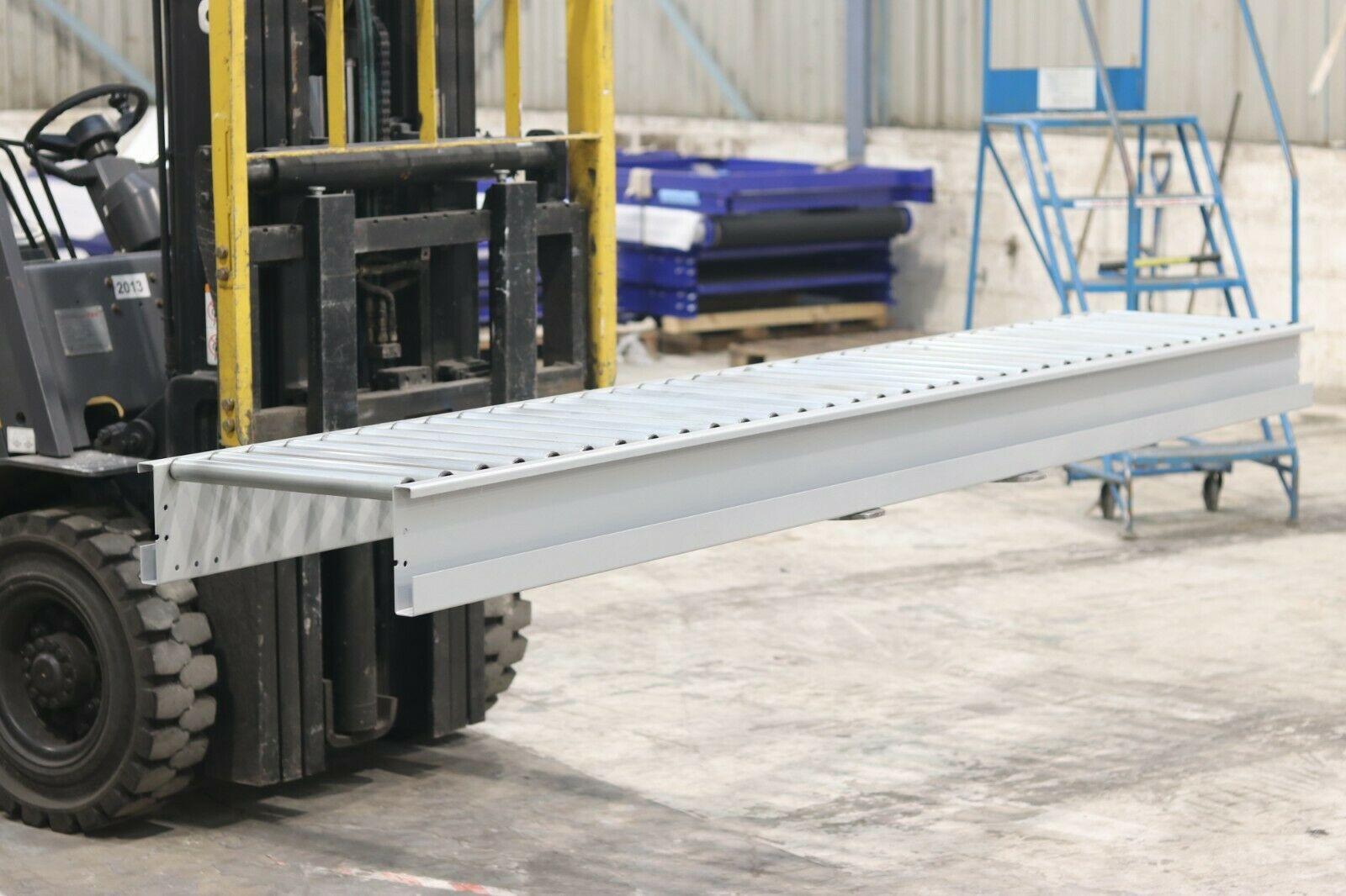 Used gravity roller conveyor