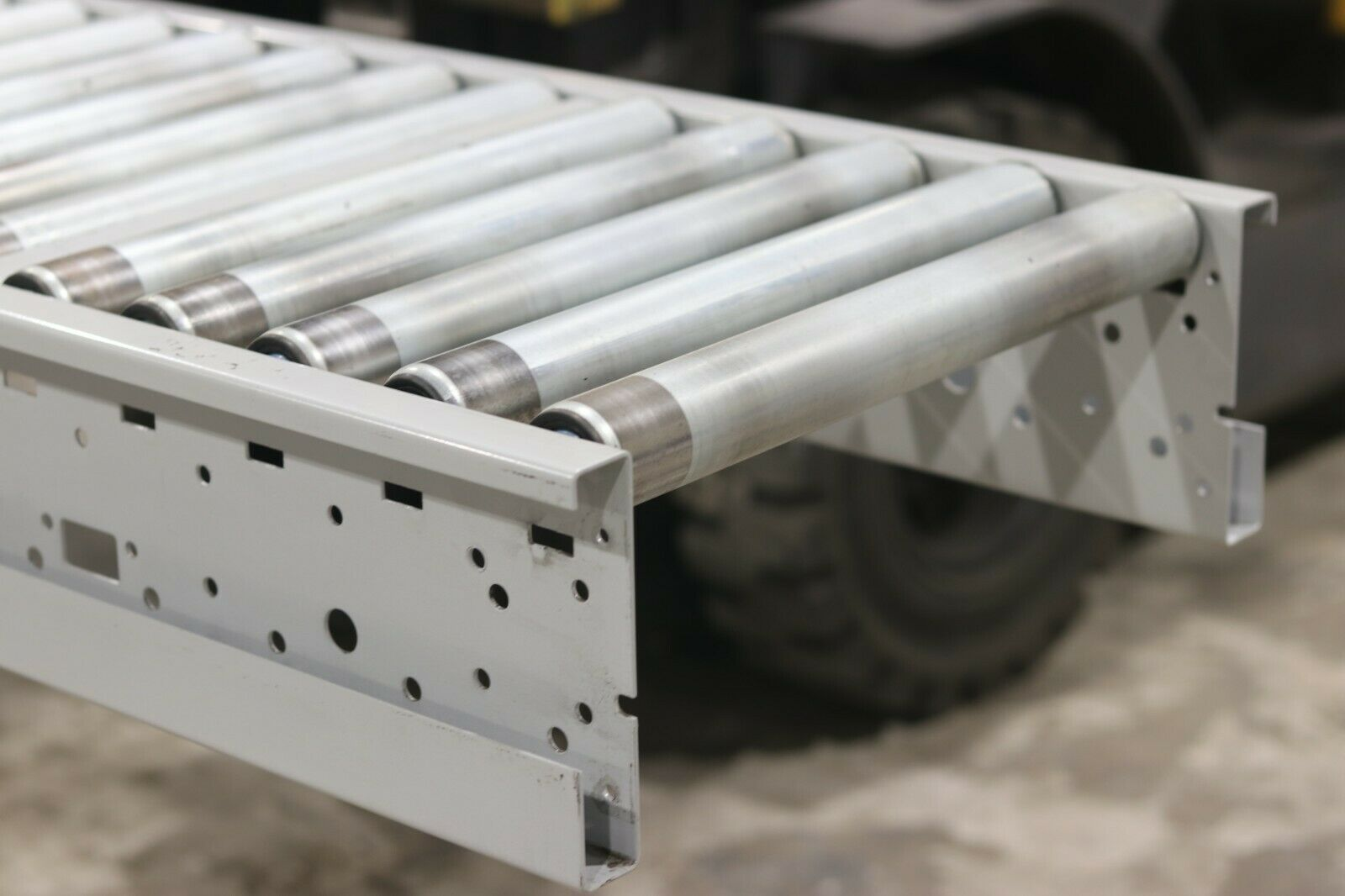 used gravity roller conveyors 450mm 50mm diameter