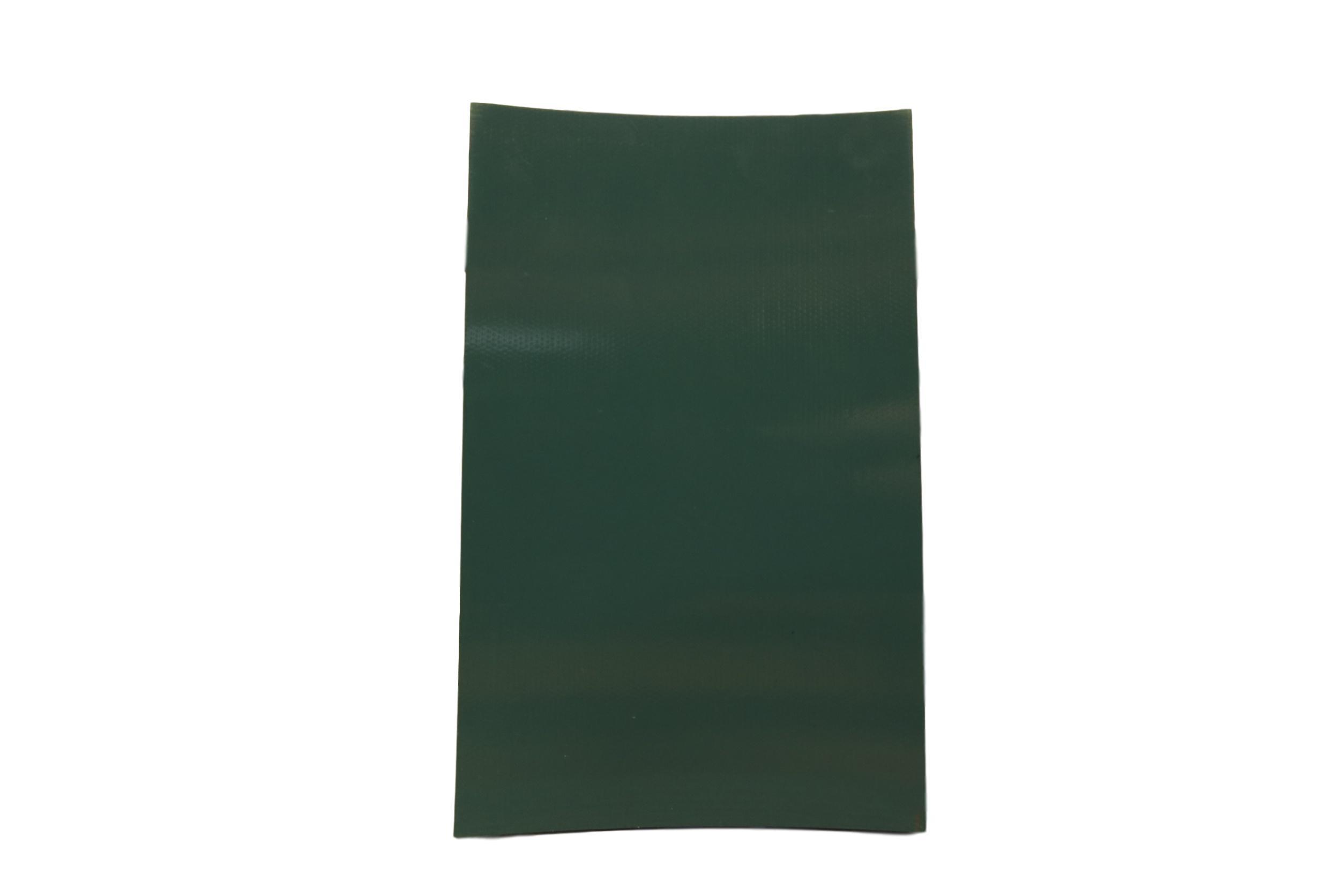 Conveyor Belting Petrol Green 3 PLY PVC Ridgid 3.6mm