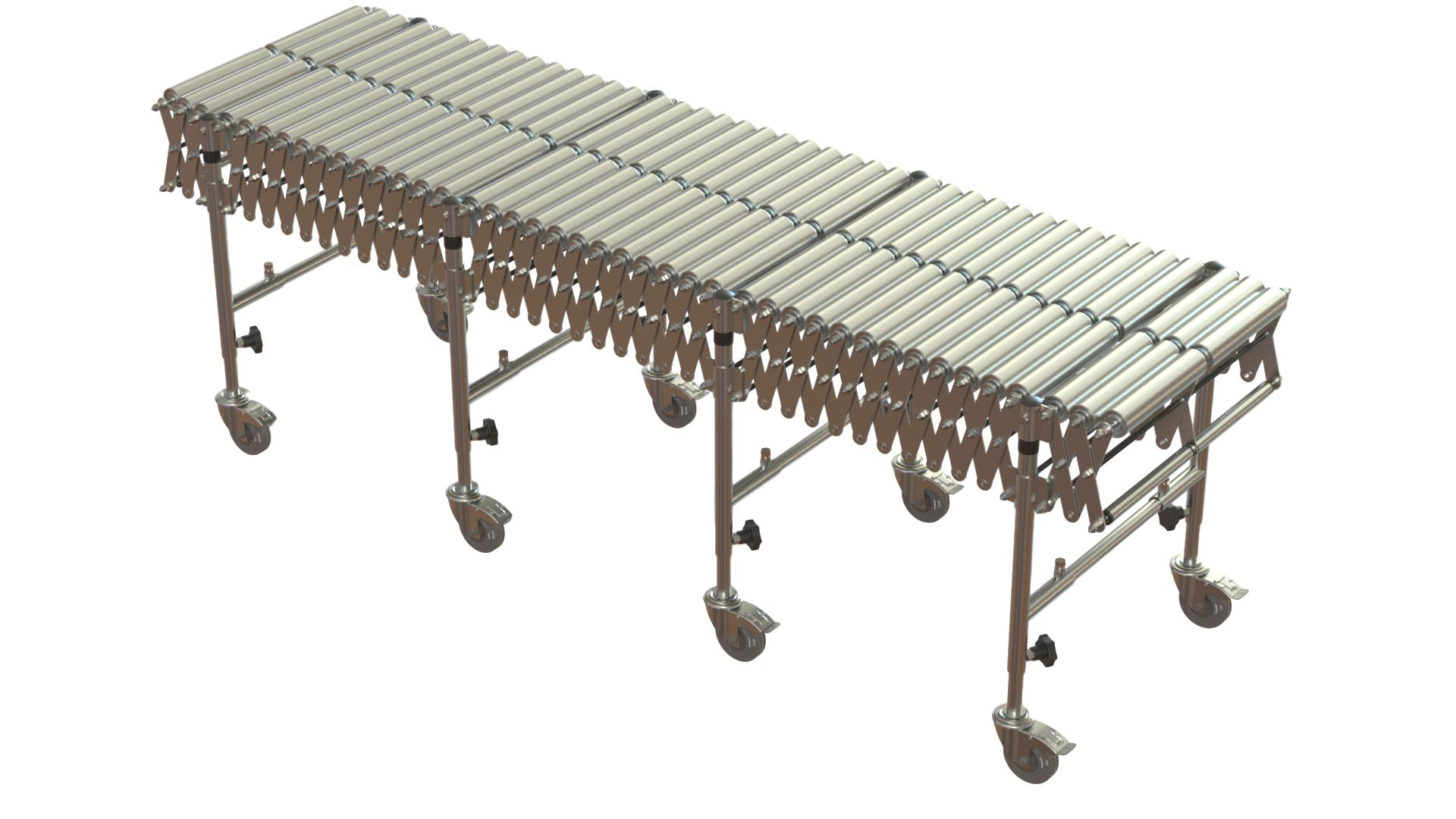Expanding Roller Conveyors for sale UK