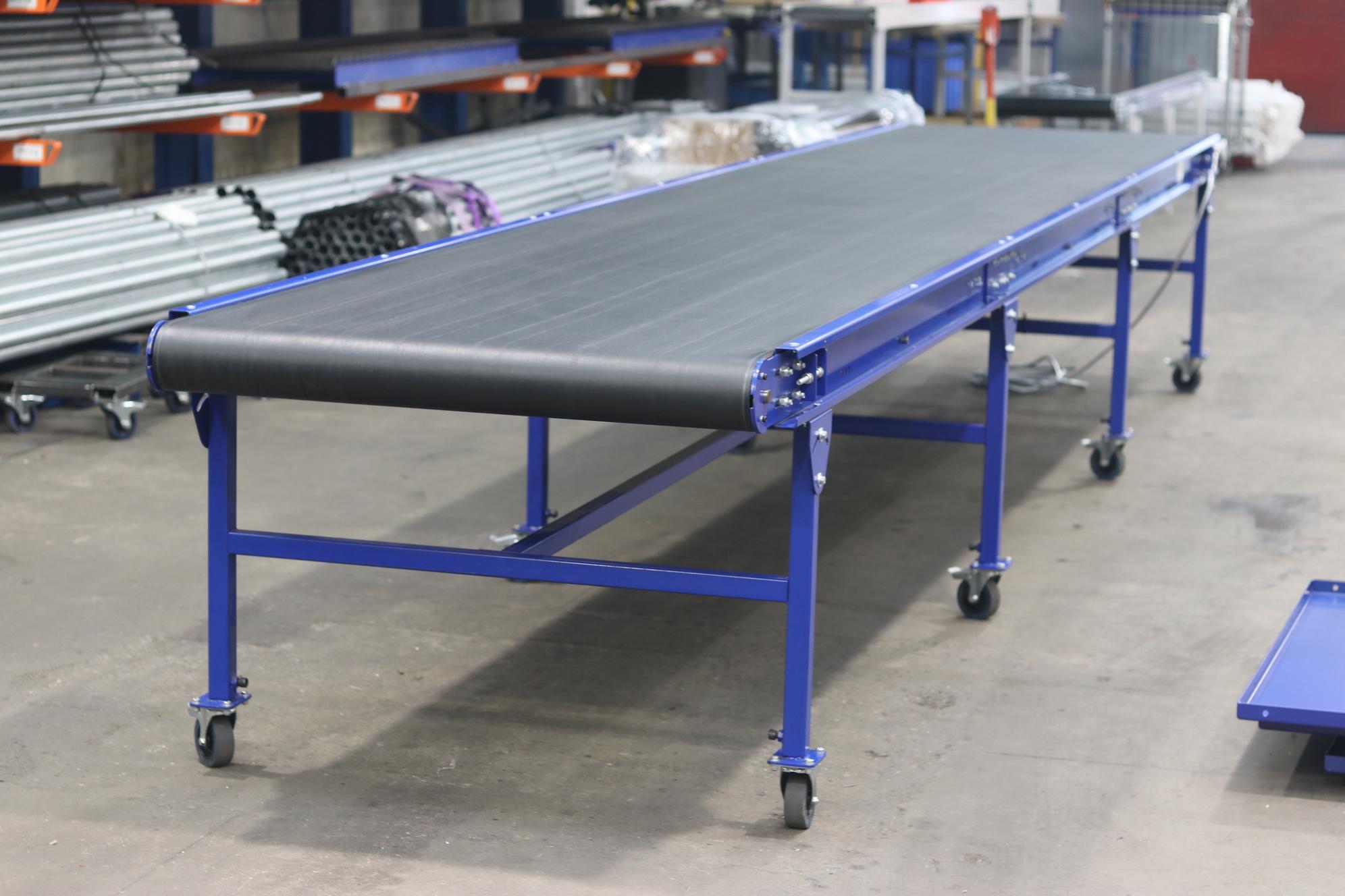 Used Flat Belt Conveyor Quality Second hand belt conveyor