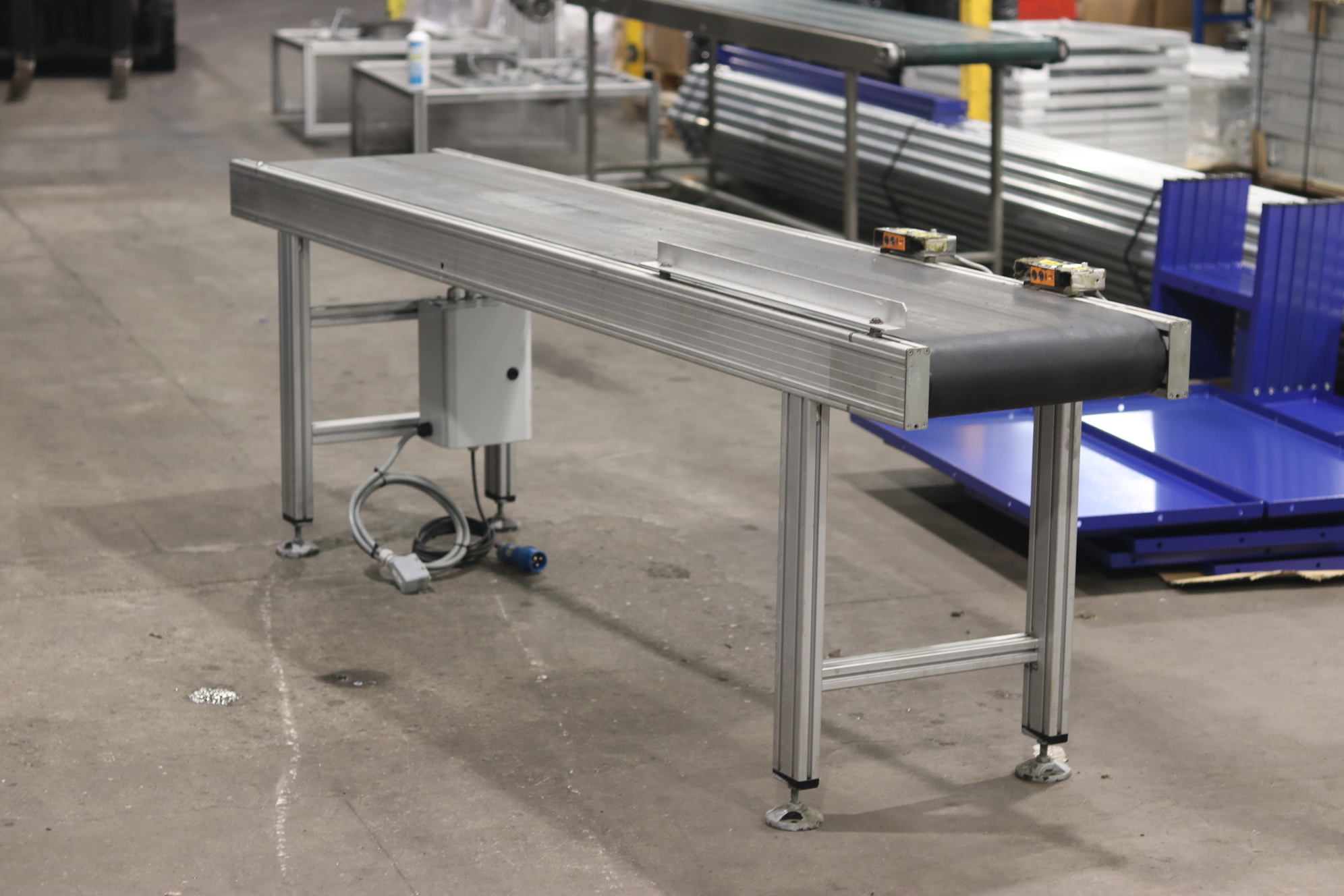 used conveyordirect belt conveyor second hand aluminium belt conveyor