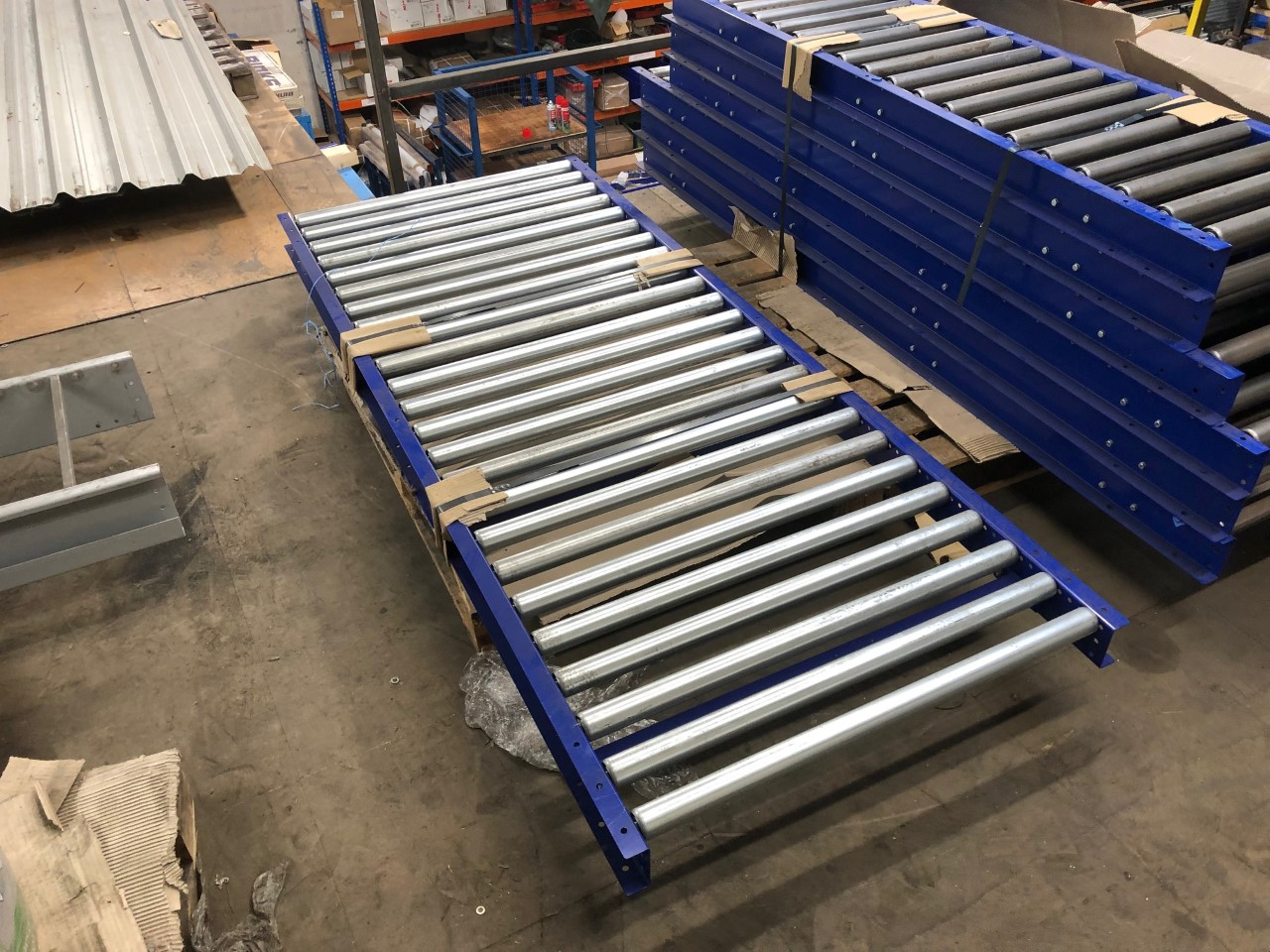 Ex demo gravity roller conveyor for sale