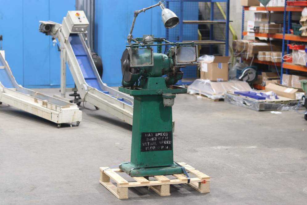 Heavy Duty Double Ended Tool Grinder Used for Sale