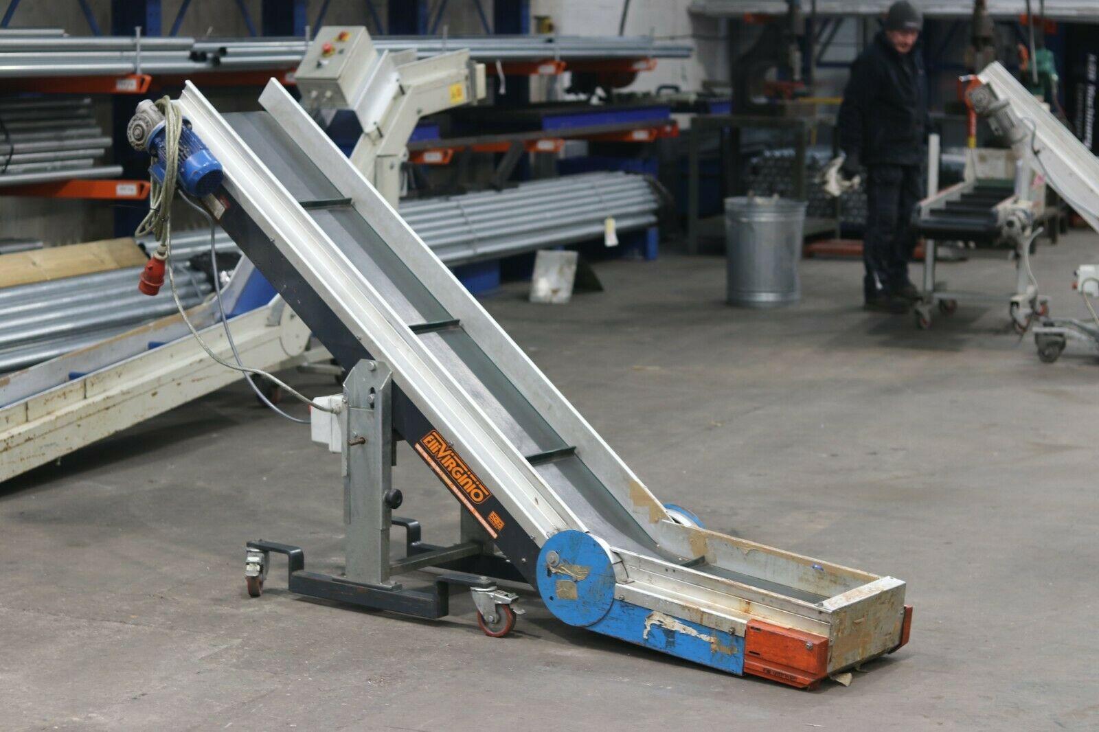 Used Incline Belt Conveyor