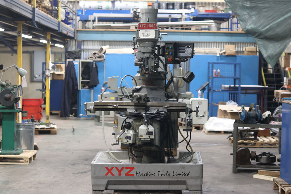 Used Milling Machines for sale XYZ 1500 Milling Machine for sale