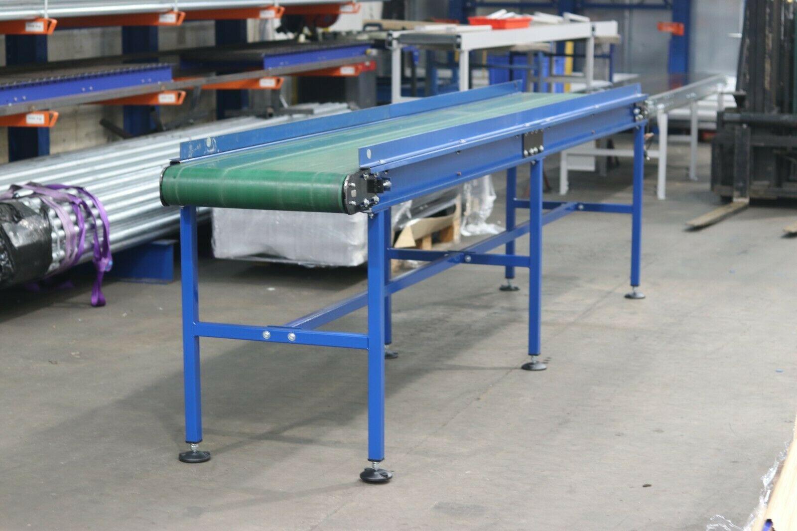 used flat belt conveyor green pvc conveyor belt