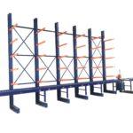 Saw Conveyor Cutting Line Saw Infeed Saw Track Metal Storage Ideas Steel Racking Steel rack
